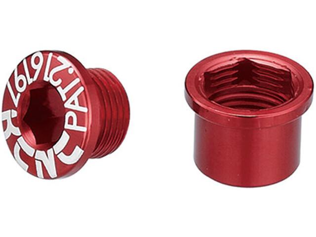 KCNC Road SPB003 Kettenblattschraubenset Shimano M8 kurz red
